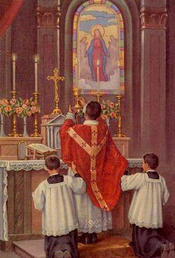 La destruction de la Sainte Messe ! Messe